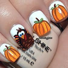 thanksgiving fingernails thanksgiving nail thanksgiving