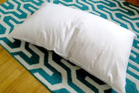 my feather pillow smells hunker