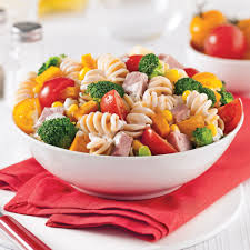 salade de pâtes au jambon et légumes recettes cuisine et