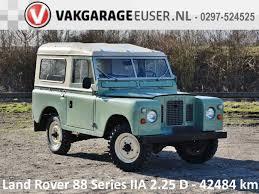 land rover santana 88 land rover 88 santana series ii 2 25 d 1972 diesel occasion te