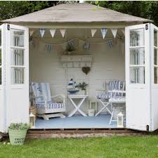 pretty shed summer house garden sheds backyard retreats the inspired room