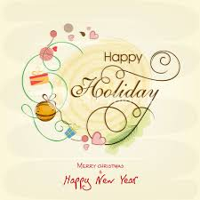 celebrations of happy merry and new year