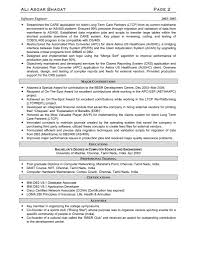 Sample Resume For Software Engineer by Resume For Software Engineer Resume For Your Job Application
