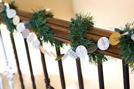 diy paper christmas garland u2026 armelle blog