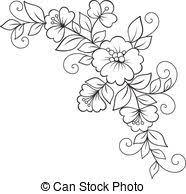 vectors illustration of flower ornament csp17976176 search