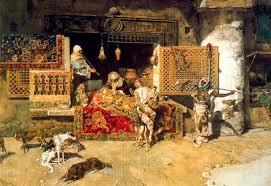 venditore di tappeti venditore di tappeti di mariano fortuny 1871 1949 spain