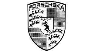 porsche logo black and white debilitating skabsession autoweek