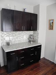mocha kitchen cabinets bar handles for kitchen cabinets bar area with our mocha shaker
