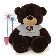 personalized graduation teddy 6ft size personalized graduation teddy chocolate brownie