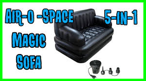 Sofa Bed Air by Air O Space 5 In 1 Magic Sofa Bed Youtube