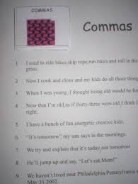 commas just us