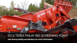 terex finlay 863 youtube