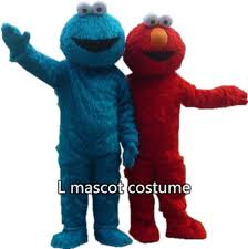 Halloween Mascot Costumes Cheap Cheap Mascot Costume Sesam Street Aliexpress