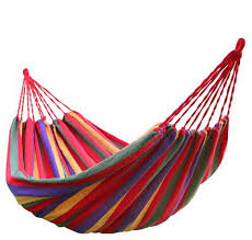 outdoor furniture canvas hammock stripe hammocks canvas cloth