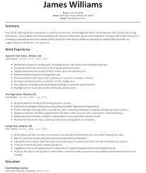 Resume Job Description For Cashier by Resume Sample Sales Resume Resumes