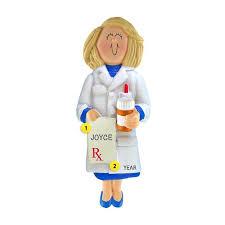 pharmacist ornament blond hair callisters callisters