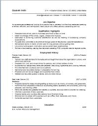 serving resume exles waitress resume sle resume objective qualification highlight