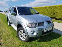 mitsubishi triton 2007 used 2007 mitsubishi l200 animal lwb dcb for sale in andover