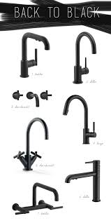 matte black kitchen faucet kitchen trend black vs brass coco kelley kitchen trends