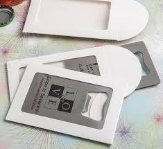 personalized bottle opener wedding favor personalized credit card bottle opener wedding favors
