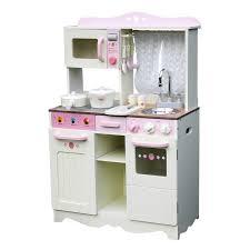 Kids Play Kitchen Accessories kids wooden play kitchen w accessories white u0026 pink buy pretend