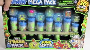 trash pack glowin mega pack junk germs exclusive collection
