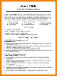 7 teacher resume example theatre resume