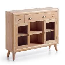 console 3 tiroirs console d u0027entrée bois meuble console scandinave