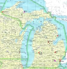 San Francisco State University Map by Map Northern Michigan Michigan Map