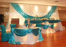 mapleleaf decorations wedding decor package for any banquet