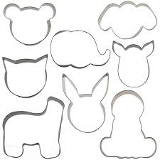 amazon com sweet elite tools mix and match animal cookie cutter