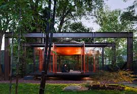 Tea House And Meditation Space Design In Backyard Of A Suburban - Backyard stage design