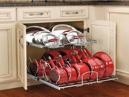 Kitchen Cabinet Organizer Racks Pots Splendid Kitchen Cabinet Door Pot And Pan Lid Rack