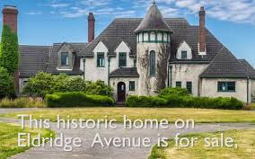 Chateauesque House Plans Historic Eldridge Mansion In Bellingham For Sale For 2 2 Million