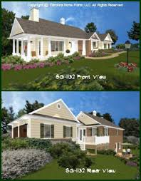 small brick home house plans home plan