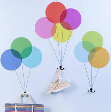 balloon shape wall sticker with coat hooks by thelittleboysroom balloon shape wall sticker with coat hooks