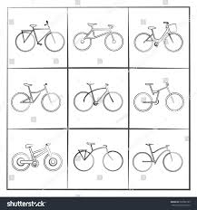 sketch bicycle stock vector 202902199 shutterstock