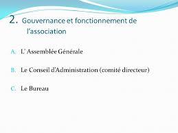association bureau conseil d administration le fonctionnement de l association ppt télécharger