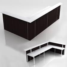 Schreibtisch L Form G Stig Empfangstheke Flex 334x173 5 Cm In Höhe 112 5 Cm Mit Ablage In L