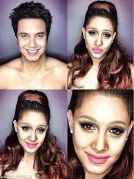 chico tv model hairstyles guess who s he oh she confused male tv host transform
