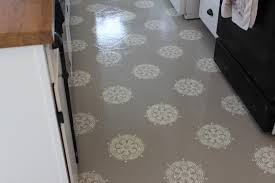 Can You Lay Tile Over Laminate Flooring A Warm Conversation Work With What You Got Painted Kitchen Floors