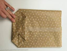 in wrapping paper diy gift bags from wrapping paper the happier homemaker