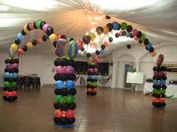 Pink Balloon Decoration Ideas Balloon Dance Floor