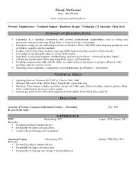 Computer Hardware And Networking Resume Samples Entry Level Resume Formats Examples Write Me Political Science