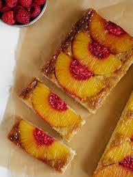 pineapple upside down cake boozy raspberry mash oh ladycakes