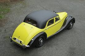 yellow rolls royce 1920 1950 riley has rolls royce good looks and everyday charm