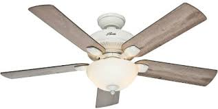 ceiling fan with grey blades hunter fan company 54091 matheston 52 inch cottage white ceiling fan