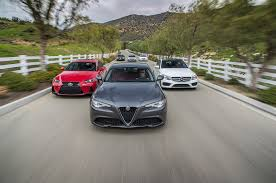 nissan leaf lease deals alfa romeo giulia vs bmw 330i vs audi a4 vs mercedes benz c300