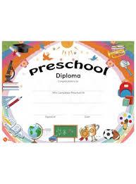 preschool diploma blank graduation diplomas blank diploma certificates