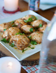 Recipes For A Dinner Party - recipe for a crowd honey u0026 chili chicken thighs with creamy